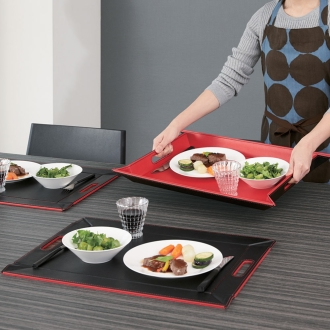 Large, 4-Pack (tray to become a free-form / Luncheon mat)