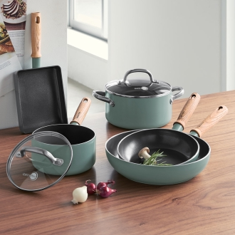 GREEN PAN / green bread series frying pan 20cm