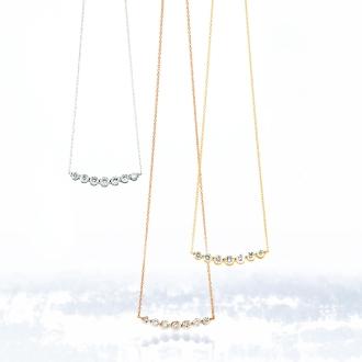 K18 0.7ct鑽石吊墜設計
