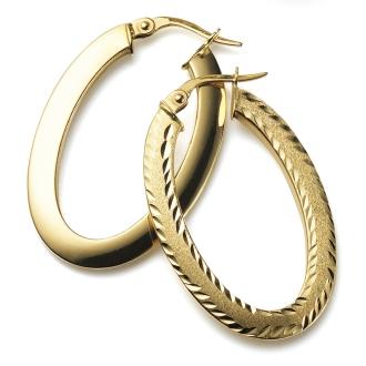 UNOAERRE / Unoaere合作K18可逆耳環