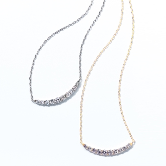 K18 0.5ct diamond design pendant