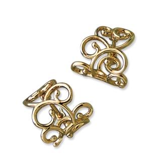 sowi / Soi K10 Arabesque earrings