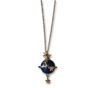 HEIRLOOM/エアルーム K10 ラピスラズリ 土星ペンダント