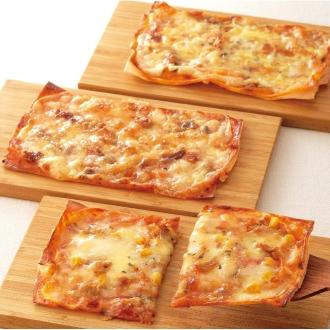 ミルフィーユピザ (3種×2枚 計6枚)