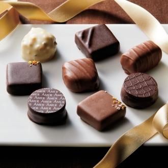 【通常お届け】 「イヴ・チュリエス」 チョコレート (8種セット)