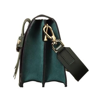 ARCADIA/アルカディア キルト×チェーン デザインバッグ(イタリア製)