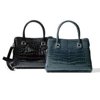 Crocodile 2WAY handbag