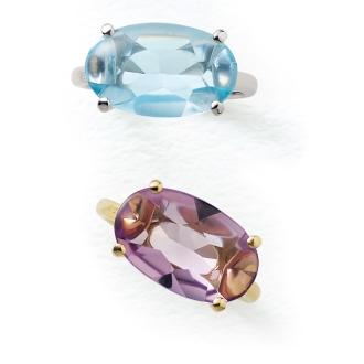 K18彩石環