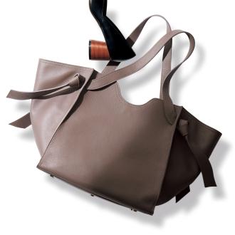 NAGATANI / Nagatani soft leather tote bag