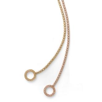 K18 1.1ct鑽石手鐲設計