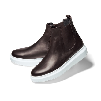 CORSO ROMA,9 / Korusoroma 9體積鞋底側戈爾靴(在意大利)