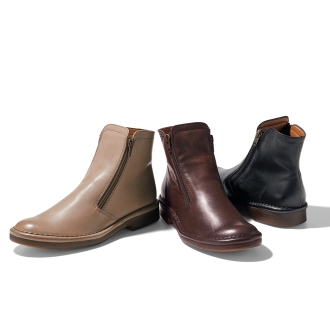 MODE ET积歌蒙Jacomo /模式等贾科莫(排队加)软皮短靴