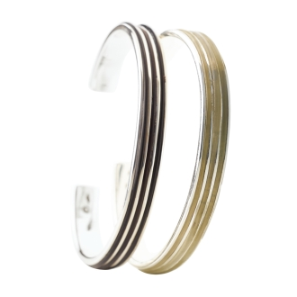 on the sunny side of the street / On The Sunny Side Of The Street metal combination buffalo bangle