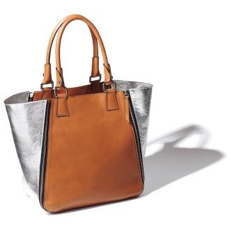 Gianni Pizzini / Gianni pin Jini zipper design Combi bag (made in Italy)