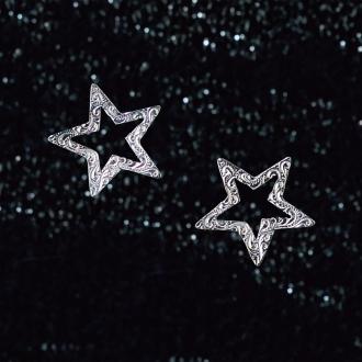 HEIRLOOM /传家宝SV星图案耳环