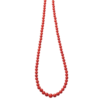 YUKIKO OKURA / Yukiko Okura 3~6mm Mediterranean coral necklace