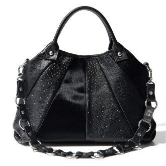 LANZETTI / Ranzetti design shoulder 2WAY bag (made in Italy)