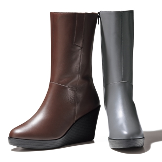 Wedge Middle boots