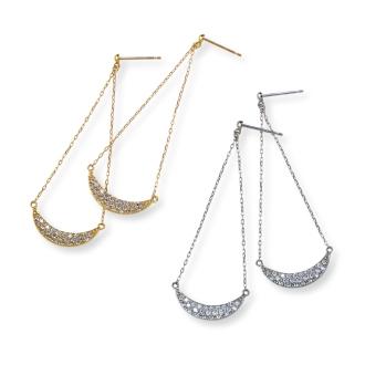 K18·鉑0.5ct鑽石耳環設計