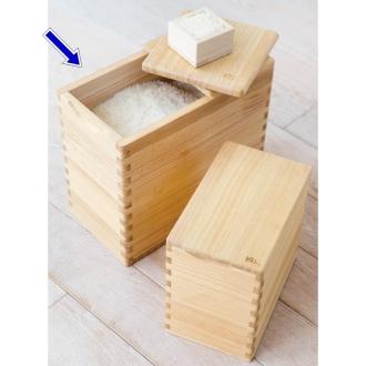 Iamota kiriko modern Tung rice chest 10 kg