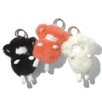 的水貂的魅力晚安羊