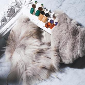 浣熊×雷克斯皮毛披肩