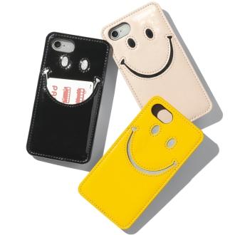 控制狂/控制狂微笑搪瓷智能手机外壳
