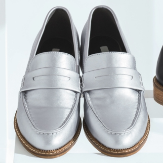 JETEE / Jute coin loafers