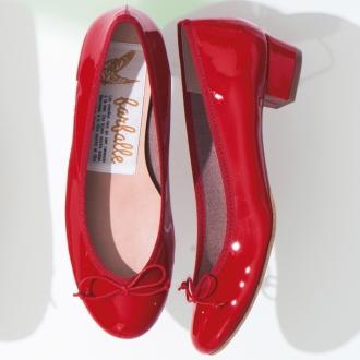 farfalle / farfalle芭蕾舞鞋后跟3厘米