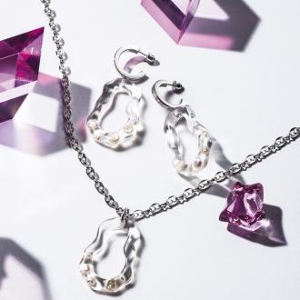 LE VERNIS /樂Vernis系列淡水珍珠填充傑里吊墜