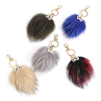 LS Scene / LSI Co scene mini monster raccoon fur Charm
