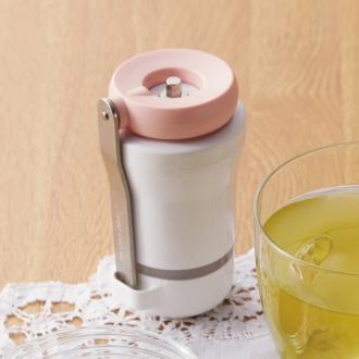 ポータブルお茶ミル Sururu(するる) 携帯ポーチ、オリジナルレシピ付き