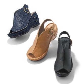 雛天綠/雛日綠色涼鞋(扣)4422