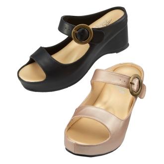 四葉草風格護士涼鞋