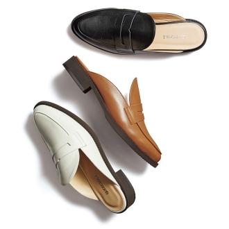 乐福鞋设计平底拖鞋