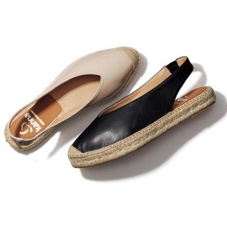 看那/看那黃麻平底鞋(西班牙製造)