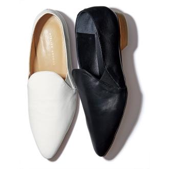 軟羊皮革便鞋