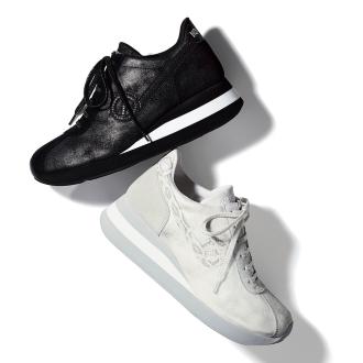 NO NAME /否名稱蟒紋Tsukai腳跟運動鞋