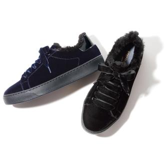 STEFANO GAMBA / Stefano Gamba velvet sneakers (made in Italy)