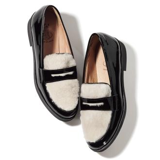 BONTRE / Bontore木桐Tsukai硬币便鞋(西班牙制造)
