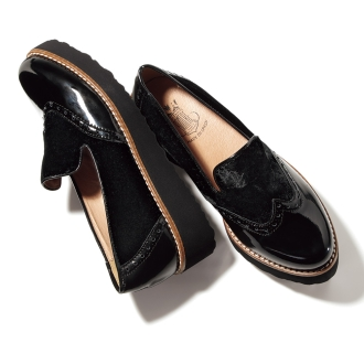 BONTRE / Bontore different materials combination loafers (made in Spain)