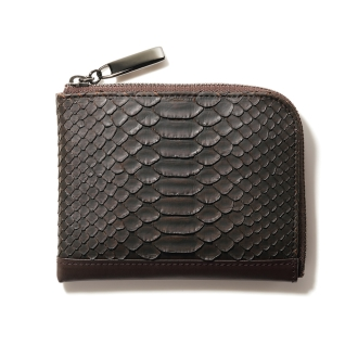 Python L-shaped compact wallet
