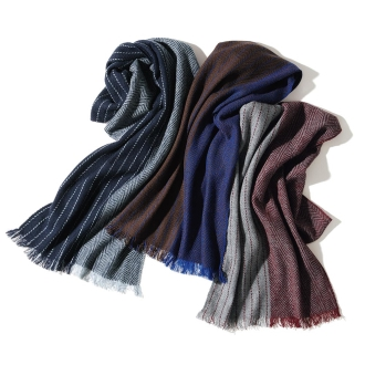 Cashmere Center Separate pattern scarf