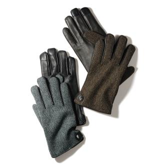 人字×皮具设计手套