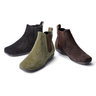 AQUALEATHER(R)/ AQUA皮革侧戈尔短靴