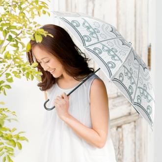 遮光涼感UVコンパクト日傘
