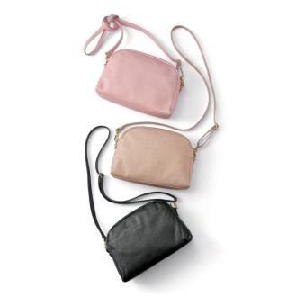AQUALEATHER (R) / aqua leather shoulder pouch