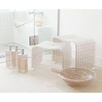 バスチェアL&洗面器&手桶(ティエナ バスシリーズ)