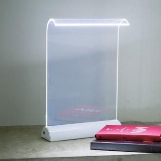 ディノス オンラインショップLEDデスクライト Glowide(グローワイド)ホワイト