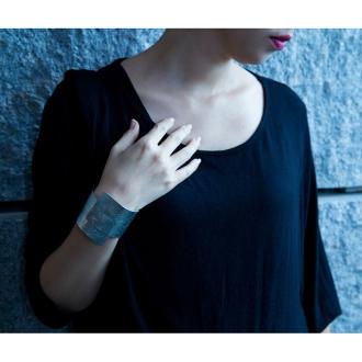 (Width 50mm) TIN BREATH / Tin breath bracelet